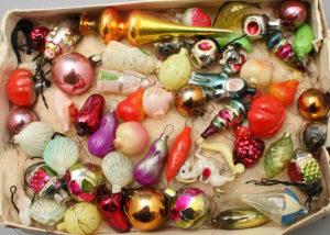 Новый год елочные игрушки